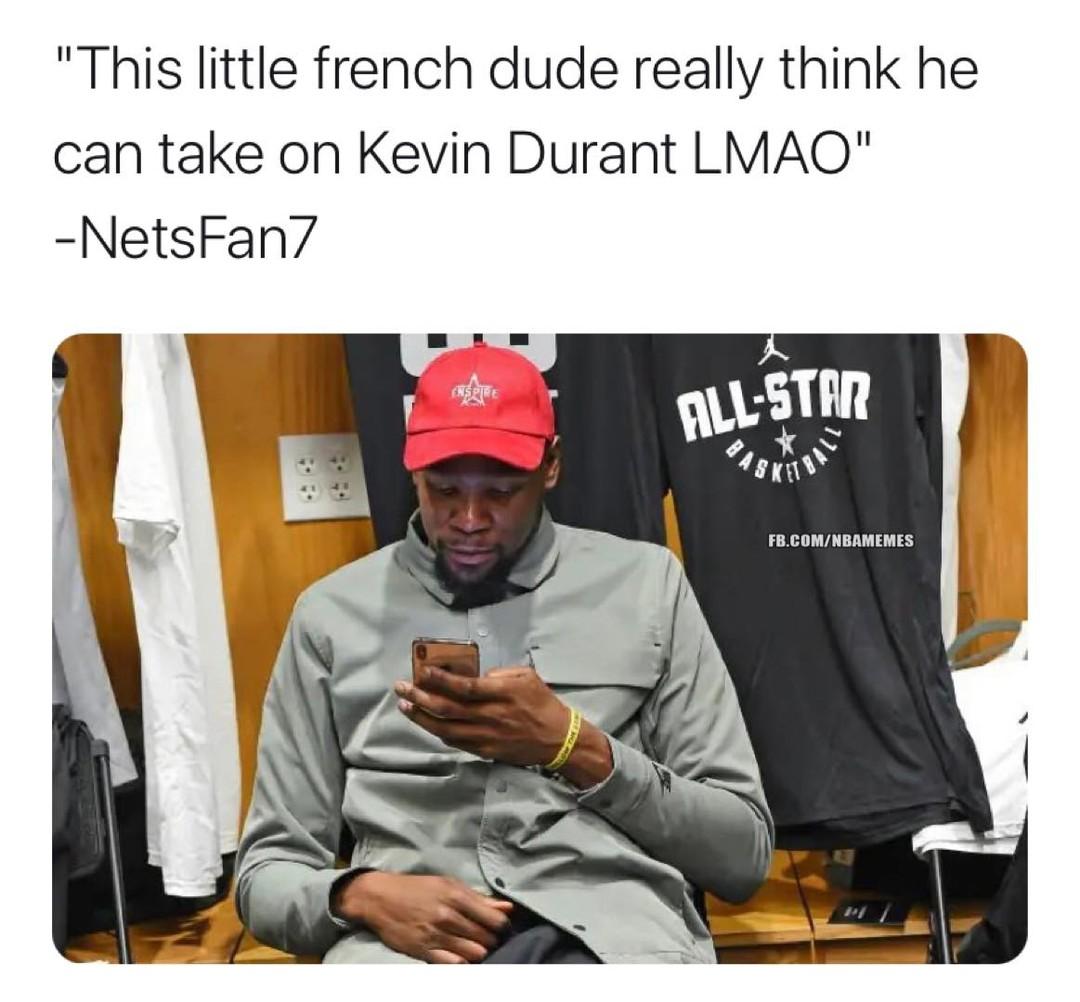 🎥 NSFW Evan Fournier calls Kevin Durant a b****: story in bio