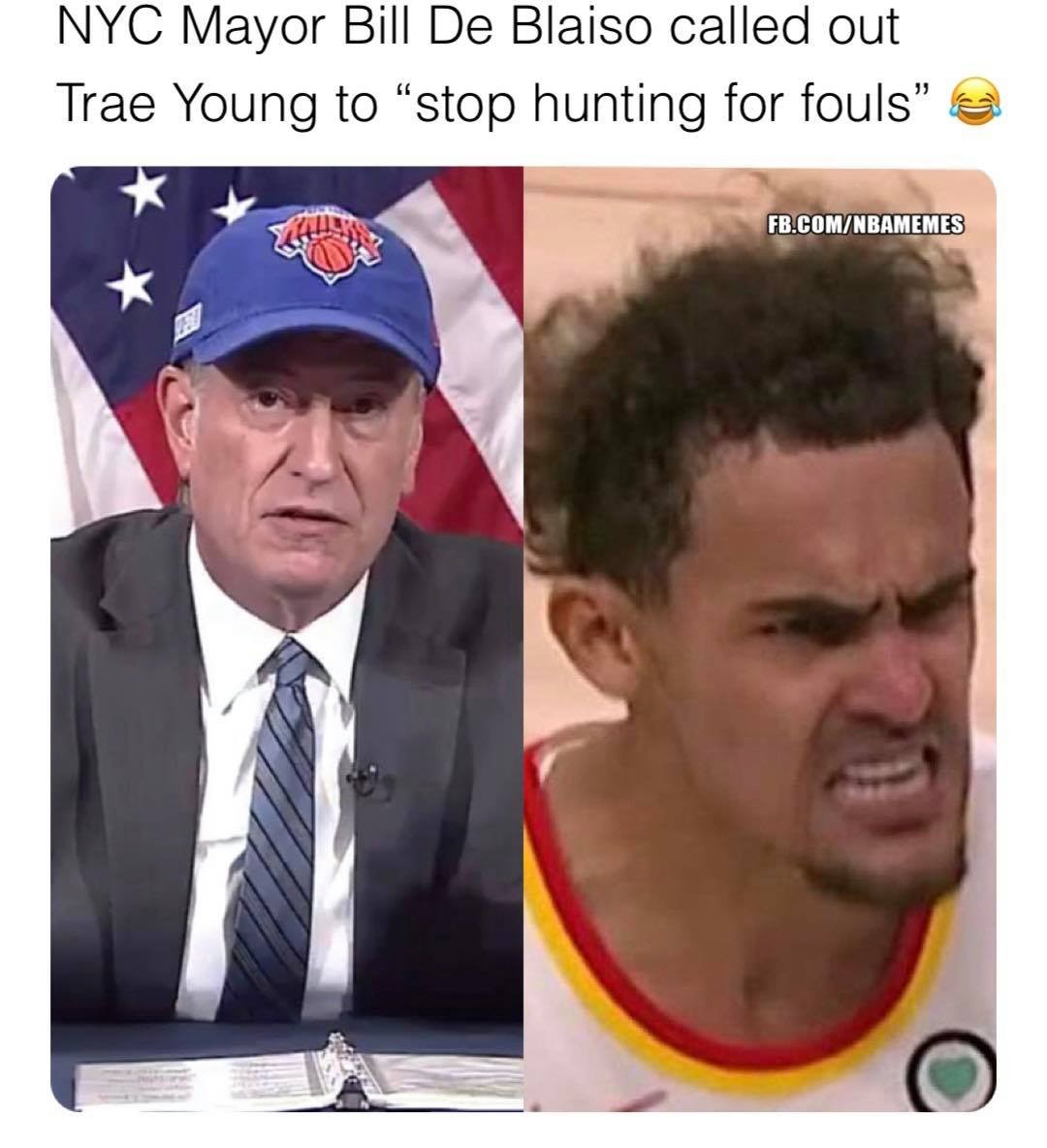 Trae Young's dad reacts to Bill De Blasio's diss: story in bio.