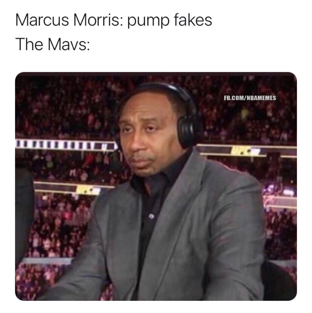 Marcus Morris has yet to hit a 3 in this series 😬