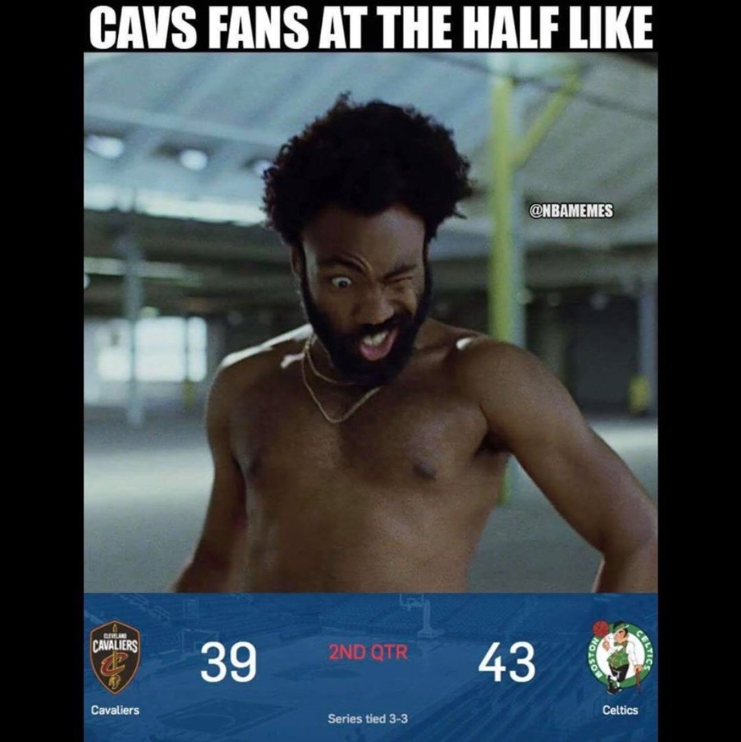 #CavsNation right now.