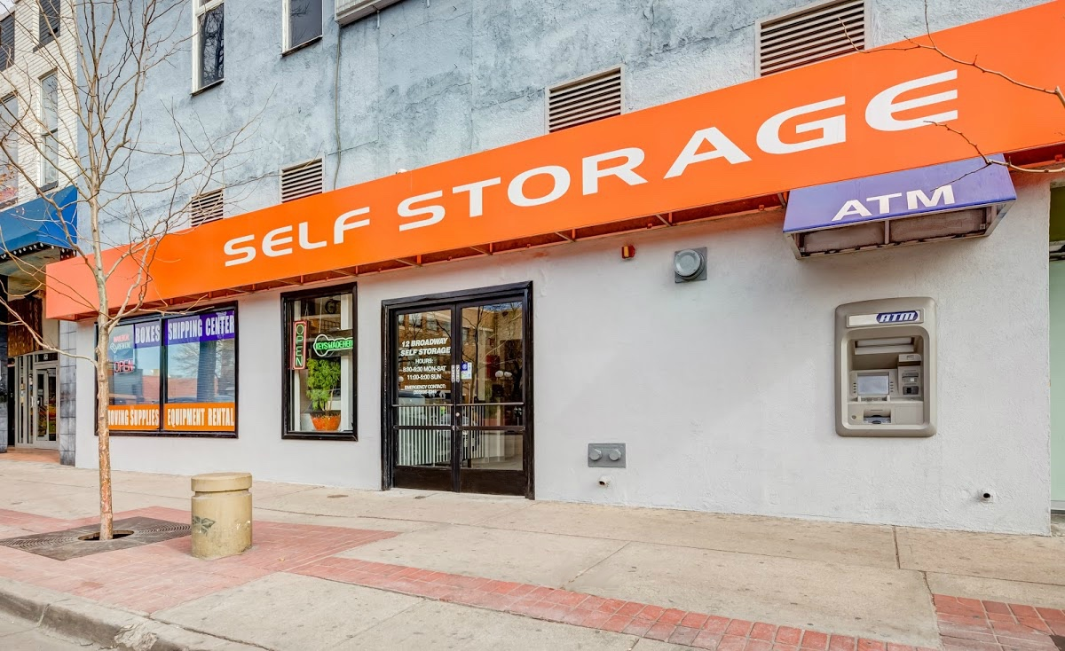12 Broadway Self Storage entrance