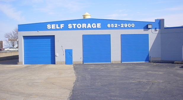 A-American Self Storage entrance