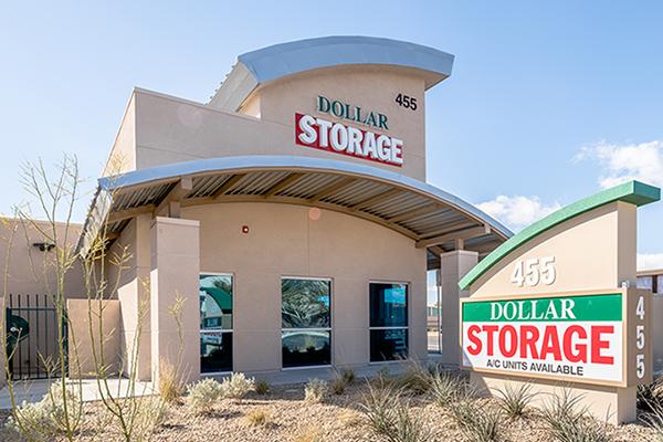 Dollar Self Storage entrance