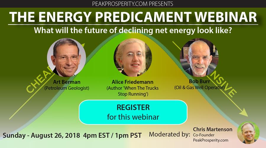 Energy webinar banner