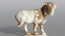 Striding Goat
