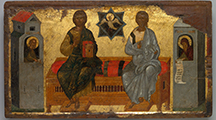 Icon of the New Testament Trinity