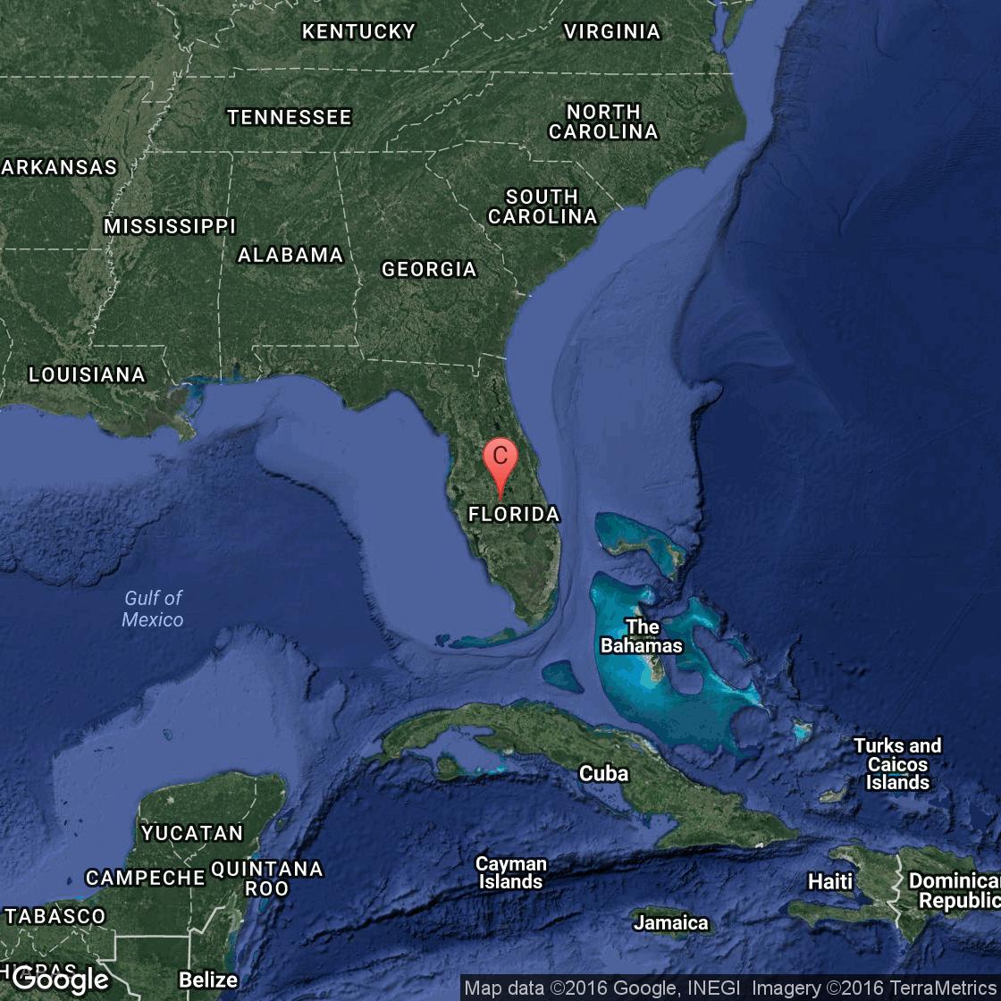 Estuaries Of Florida Getaway Tips - Florida uplands map
