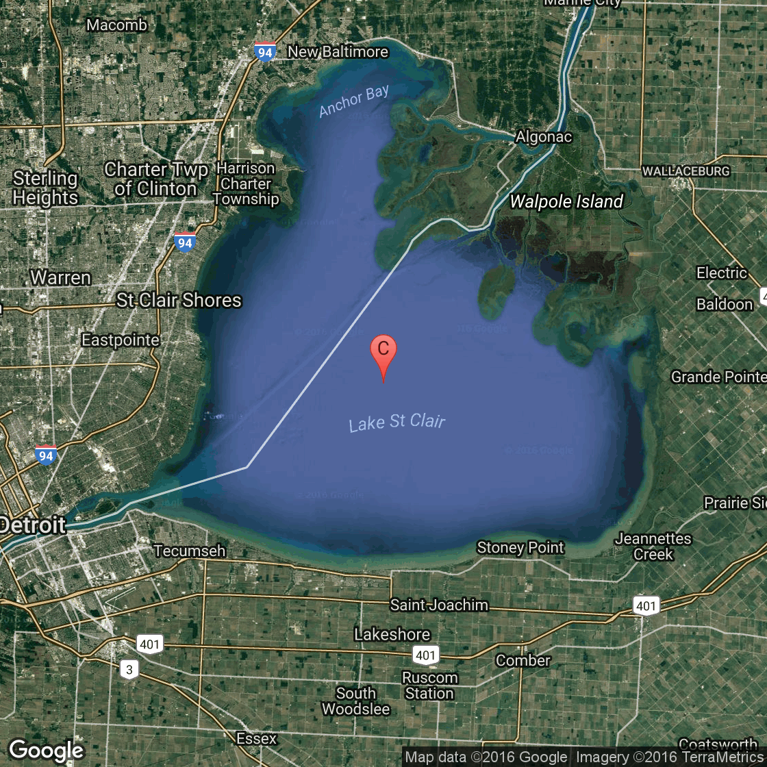Fishing in windsor canada usa today for Fishing lake maps