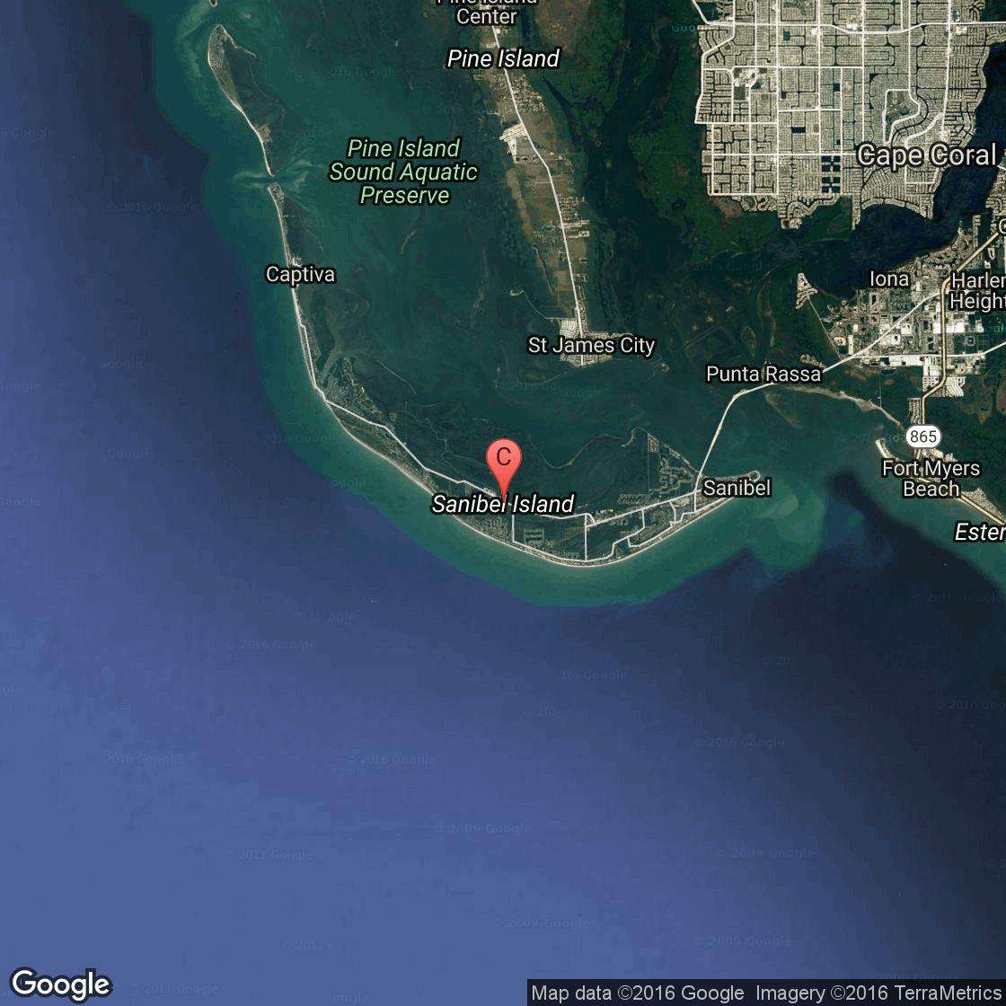 Captiva Island Florida Map