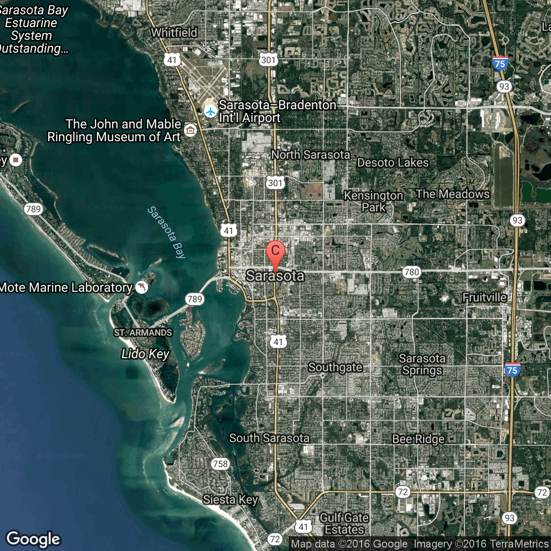Casey Key Florida Hotels USA Today - Map florida keys hotels