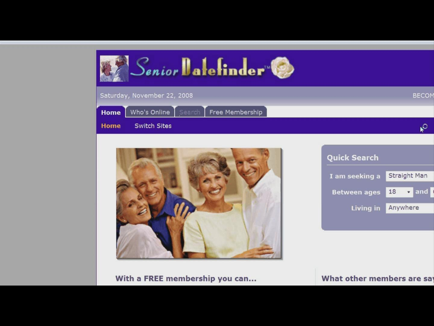 Senior dating sites online