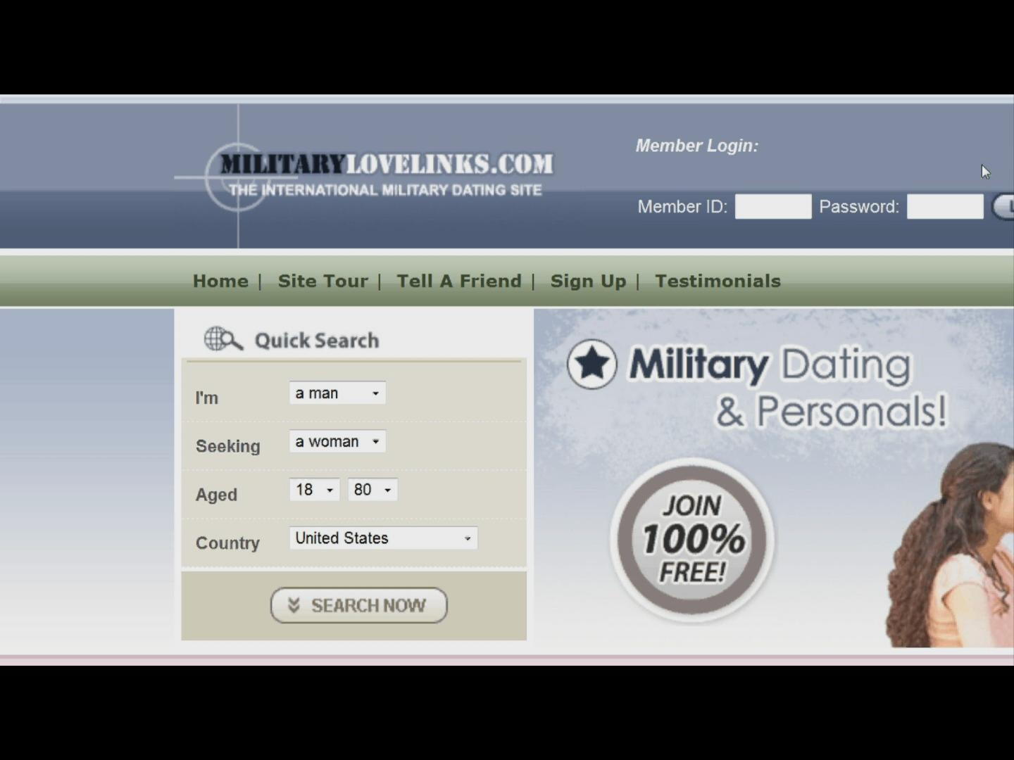 Recruit a Date at Meet Soldiers Online