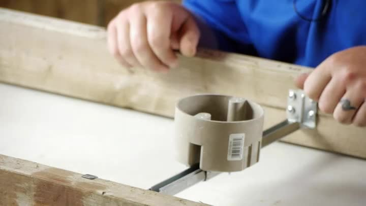 Video How To Install A Ceiling Fan Saf T Brace Ehow