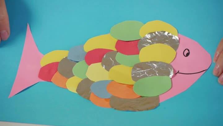 Video: Rainbow Fish Crafts For Preschoolers