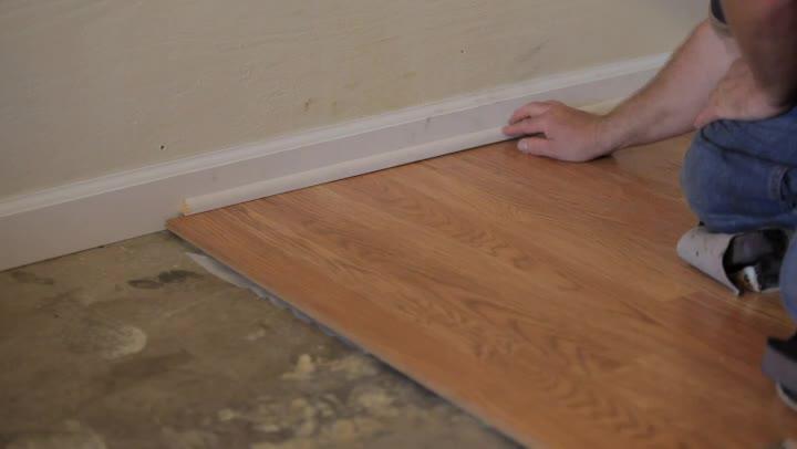 Removing laminate flooring gurus floor for Installing 3 4 inch hardwood flooring