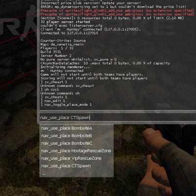 counter strike 1.3 command list