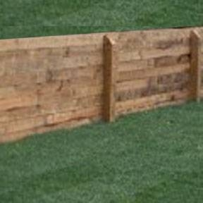 How To Build A Pressure Treated Retaining Wall Hunker