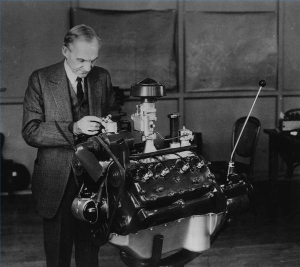 Who Invented The V8 Engine?