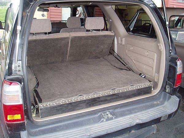 How To Build Low Profile Storage Boxes In Your Suv It