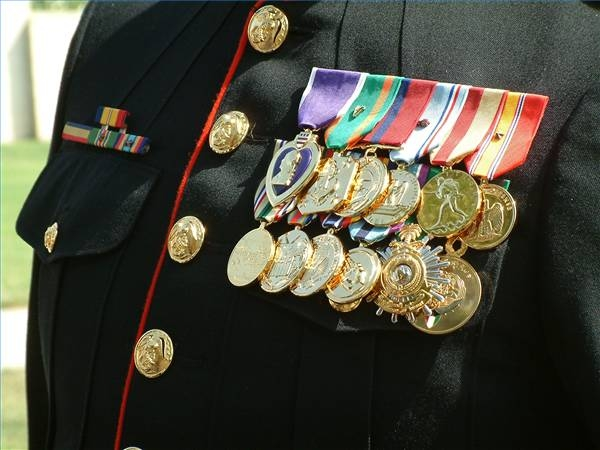 How To Build A Rack For Military Medals Synonym