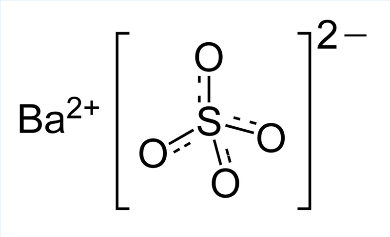 Physical Properties Of Barium Sulfate Sciencing