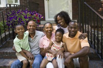 black nudist family