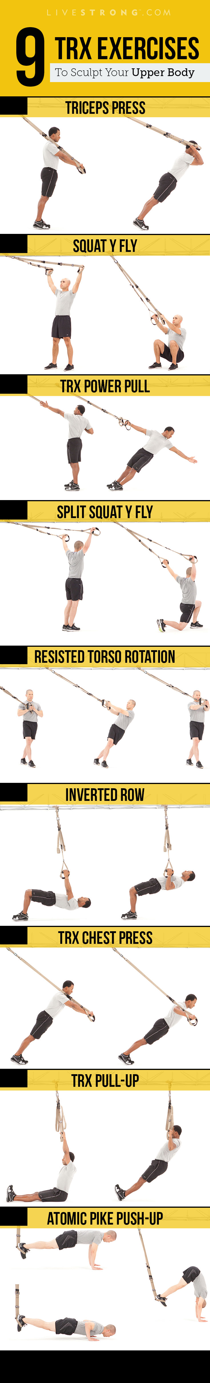 graphic about Printable Trx Workouts titled 9 TRX Moves toward Sculpt an Insanely Durable Higher System