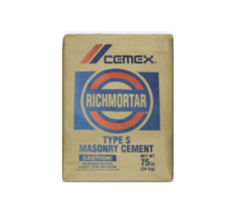 Cemex Type S Masonry Cement 80 Lb Bag At Capitol