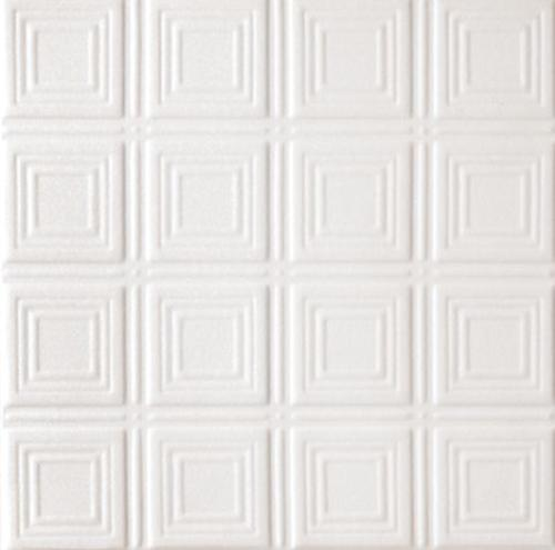3/4 in x 2 ft x 2 ft Armstrong Tincraft 25 Squares 9/16 in Flush Tegular Panel - 8009