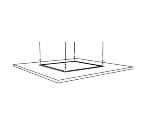 8 ft Armstrong SoundScapes Deck Hanging Kit - 5450