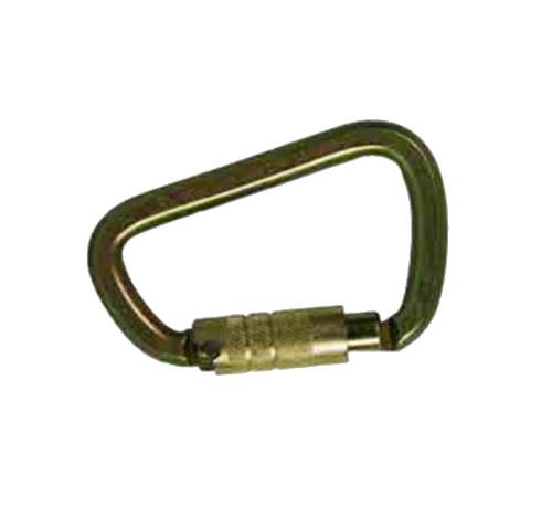 Guardian Fall Protection Triple Locking Steel High Strength Carabiner