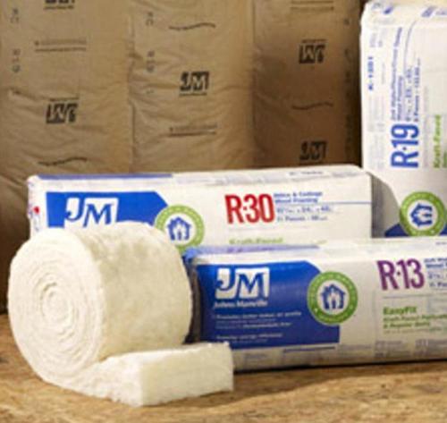 R13 3 1/2 in x 24 in Johns Manville Kraft Faced Insulation