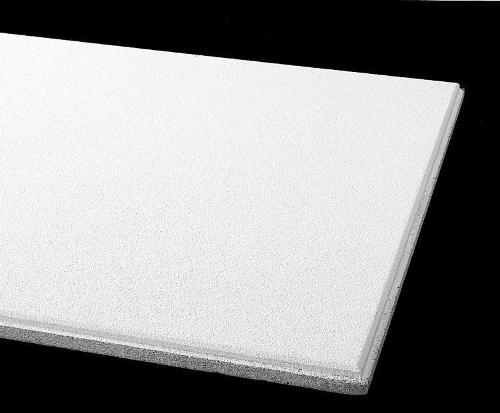 1 in x 2 ft x 2 ft Armstrong Ultima Health Zone High NRC 15/16 in Beveled Tegular Panel - 1447
