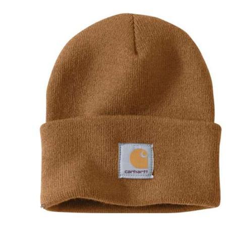 Carhartt Brown Acrylic Watch Hat