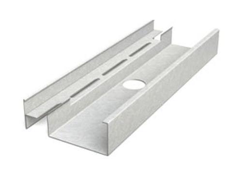 6 in x 18 ft x 20 GA EQ Steel CH/CT Stud