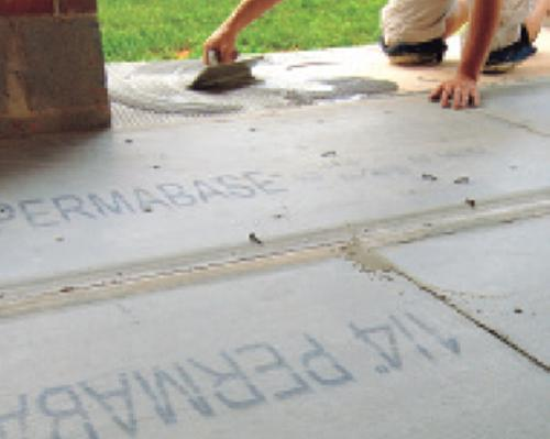 1/4 in x 3 ft x 5 ft National Gypsum PermaBase BRAND Cement Board Underlayment