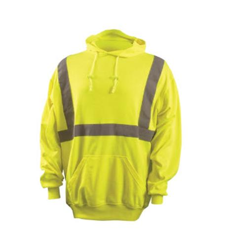 OccuNomix Classic Lightweight Pullover Yellow Hoodie - Medium