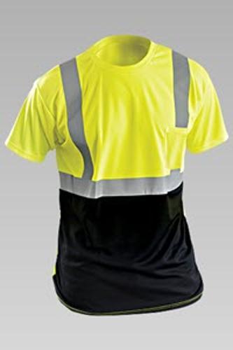 OccuNomix Classic Black Bottom Yellow T-Shirt - XL