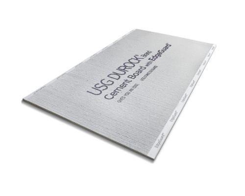 5/8 in x 3 ft x 5 ft USG Durock Brand Cement Board w/ EdgeGuard