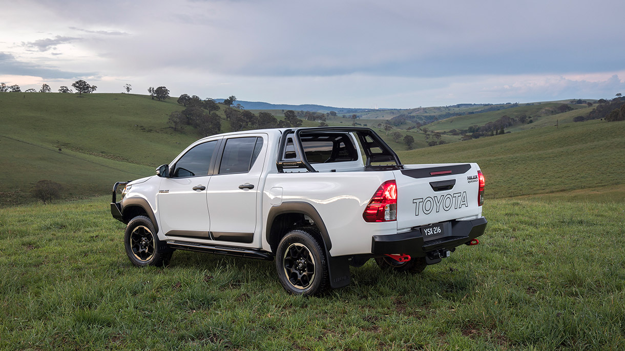 New Hilux Rugged