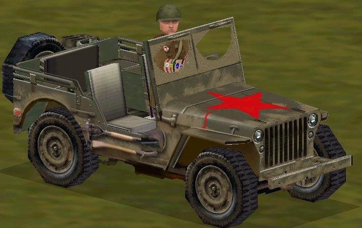 Sovietjeepredstar