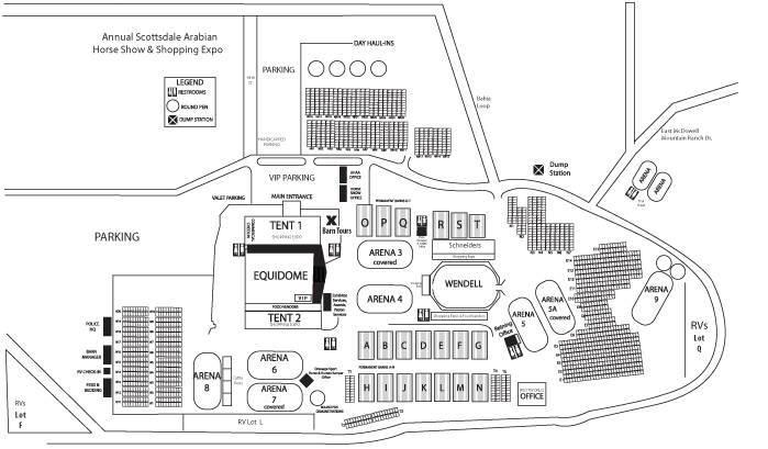 Map Of Westworld Arabian Horse Association Of Arizona