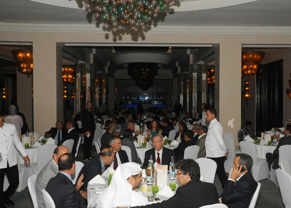 Pure Arabian Horse Breeders Gala in the Zaytouna Restaurant at the  Mazagan Hotel and Beach Resort