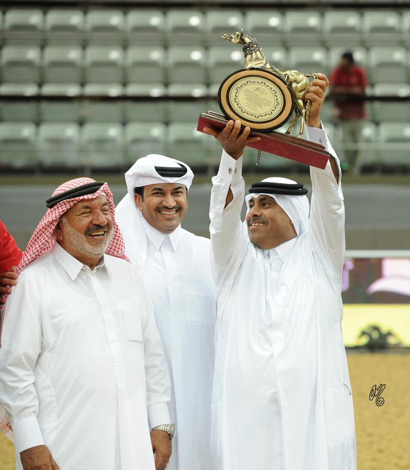 Junior Filly Bronze Champion: Nawaal Al Rayyan (Ansata Sokar X Nadrah Al Rayyan)
