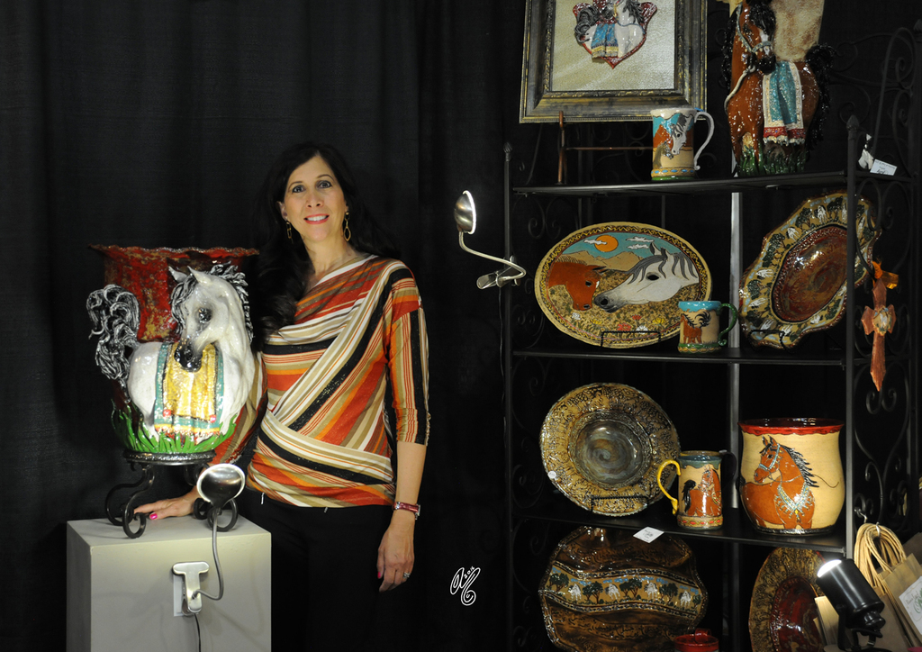 Lisa Abraham 2016 Arabian Breeders World Cup Las Vegas
