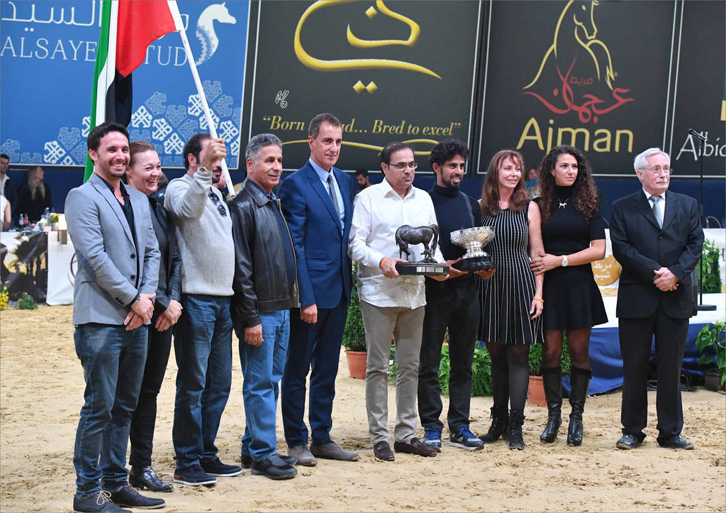 The United Arab Emirates were the winners of both the Ian Hedley Memorial Trophy: The All Nations Cup Breeders Trophy; and the Lady Harmsworh Blunt Memorial Trophy: The Nations Cup.