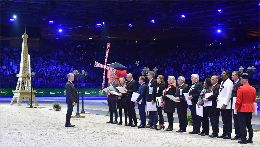 The 2017 Arabian Horse World Championship panel of Judges
