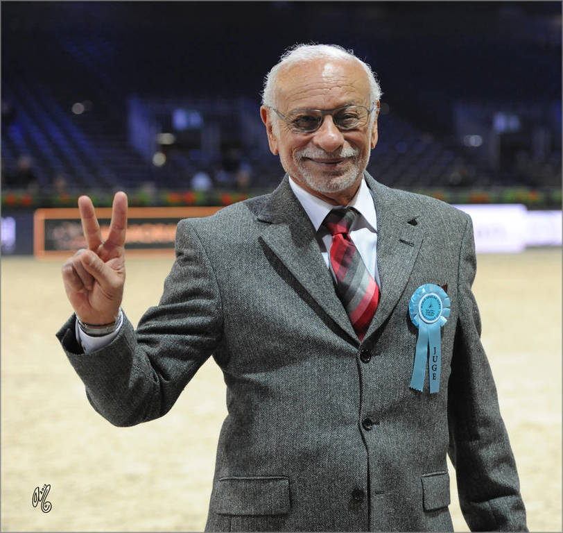 Dr. Nasr Marei Judging the 2015 Arabian Horse World Championship