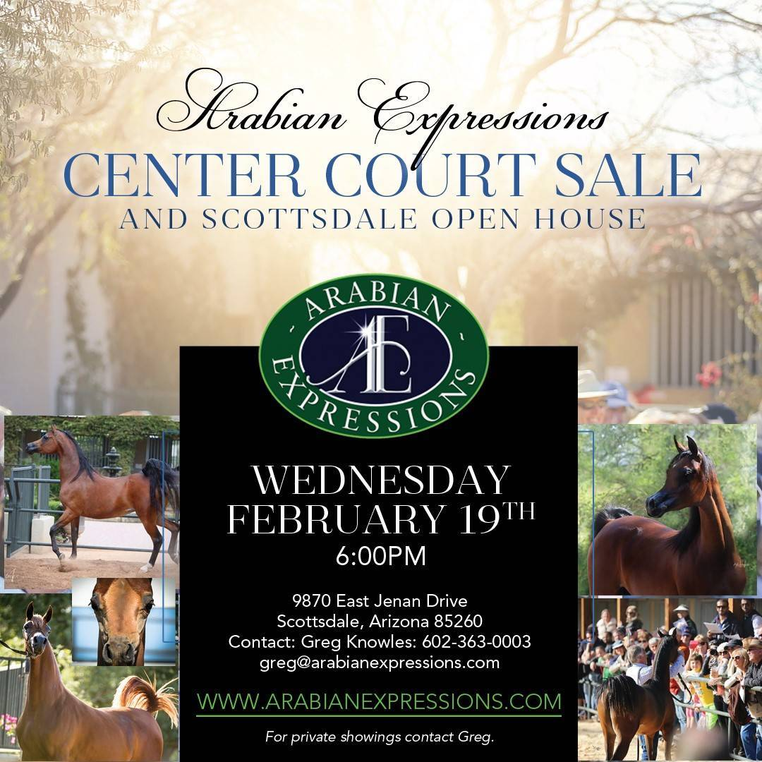 Center Court Sale Open House ~ Wednesday, February 19th @ 6:00PM