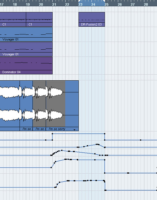 how to create basic music track